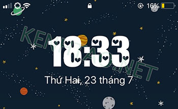 font dong ho cho iphone